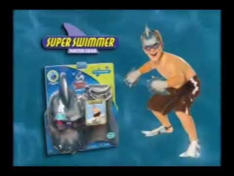 Super Swimmer Shark Attack Ad - 90's [8/22/2012's Pick]