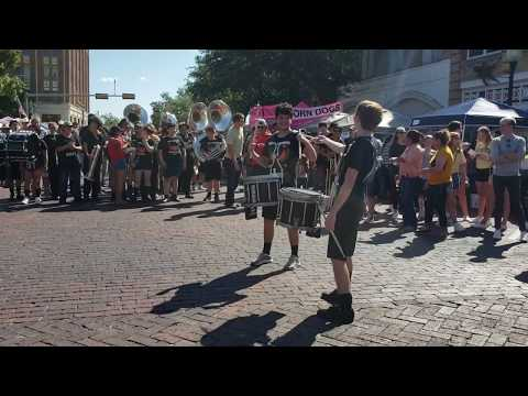 Eastland High School Band Flash Mob at RipFest