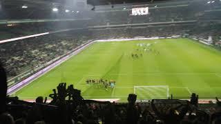 Gladbach Fans feiern Plea