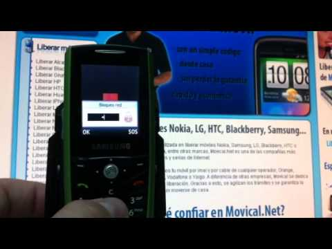 Liberar Samsung E200, desbloquear Samsung E200 de Orange - Movical.Net