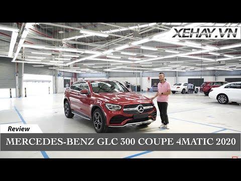 Đánh giá Mercedes-Benz GLC 300 Coupe vừa ra mắt |XEHAY.VN|