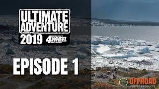 Ultimate Adventure 2019  Episode 1 Rivers Mud and Knik Glacier