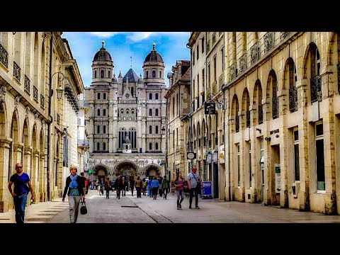 A Walk Around The City Of Dijon, France
