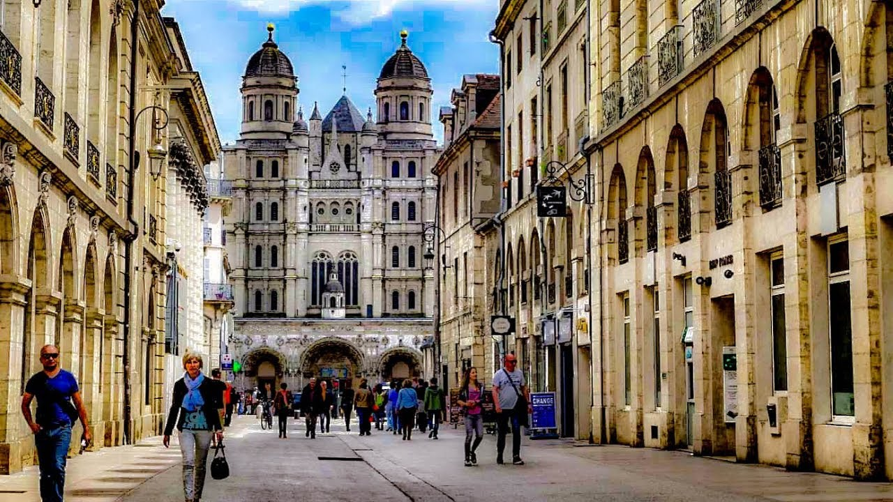 Download A Walk Around The City of Dijon, France