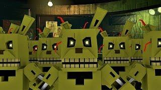 Minecraft Пять Ночей с Фредди 3 Майнкрафт МИШКА ФРЕДДИ 3 Обзор Карты