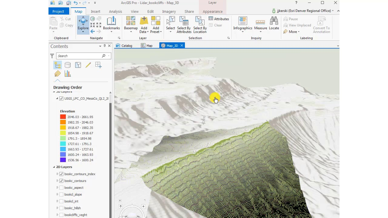 How to Create and Compare 2D and 3D Scenes in ArcGIS Pro