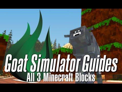 Craft Blocks Goat Simulator