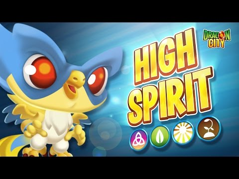The High Spirit Dragon - Dragon City
