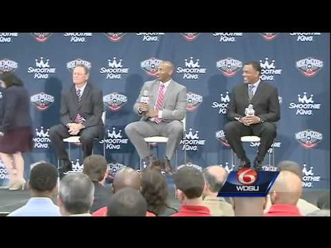 New Orleans Pelicans introduce head coach Alvin Gentry