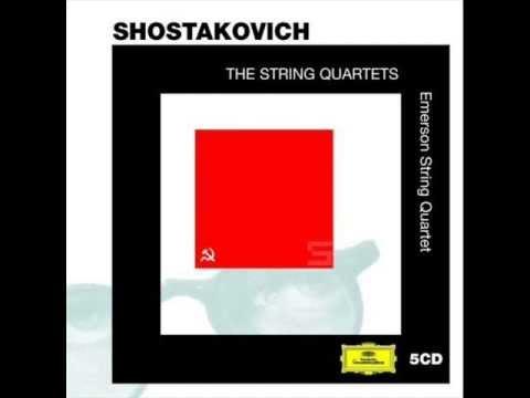Emerson String Quartet: Shostakovich, Op. 118 No. 10 in A-flat major (1964)