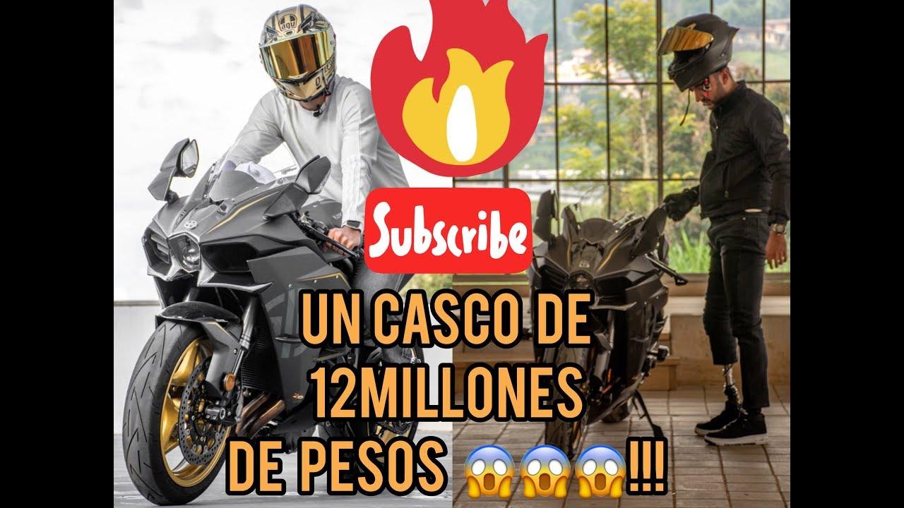 Un casco de 12millones de pesos (CHISMOSEANDO) Colombia