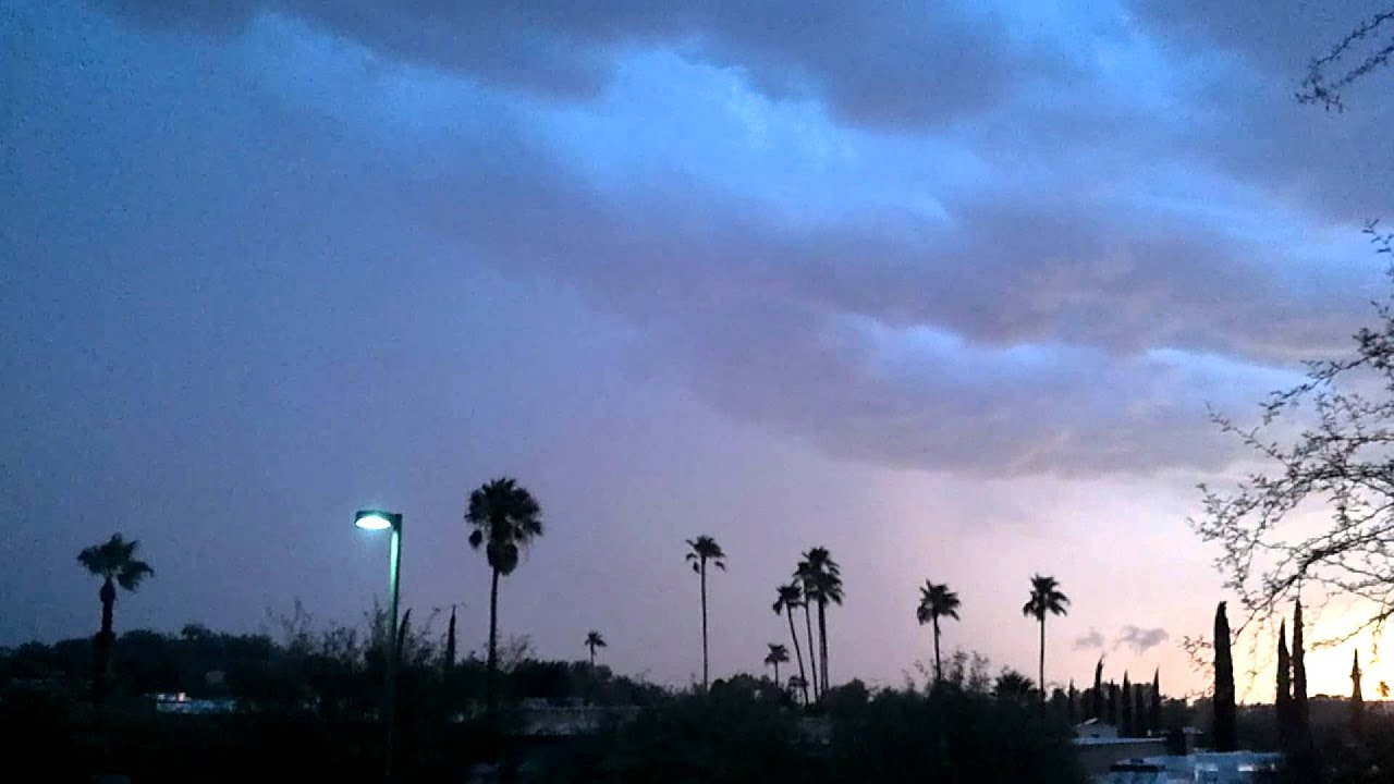 tucson arizona lightning storm in hd 1080p droid 3 youtube