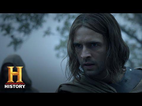 Knightfall: Prince Louis Hunts Landry Down (Season 2, Episode 5) | History