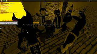 ROBLOX | The Ink Rises: A Bendy RP! | Bendy baila Gospel of Dismay! :O