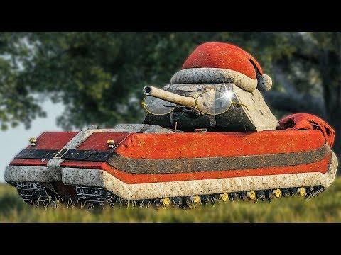 SANTA MAUS • Christmas Carry ► World of Tanks Maus Gameplay thumbnail