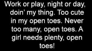 Open Toes by Katharine McPhee Lyrics