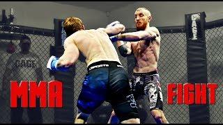 Jakub Dyk VS Jiří Šponar / MMA Fight
