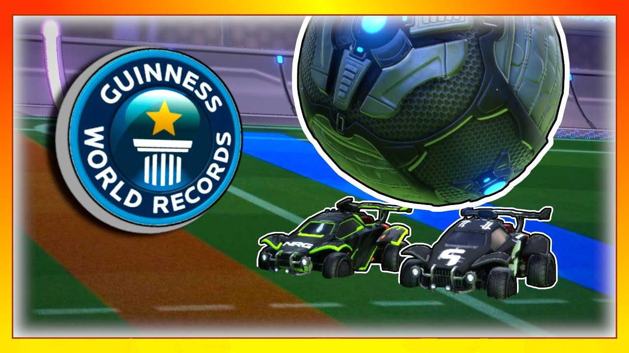 We tried to beat Rocket League world records... Can we do it?
