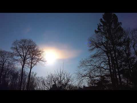 Sun on Sunday - Sunrise ASMR in Brugge aka Bruges (Belgium) - 4K video