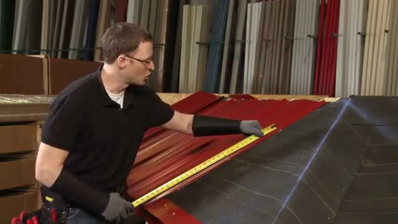 How To Install A Hip Panel Abc Sl 16 174 Metal Roofing