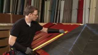 How to Install a Hip Panel: ABC SL-16® Metal Roofing System