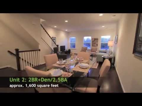 Park Row - SOLD OUT - NEW 2-Level Townhouse w/Parking - Columbia Heights DC