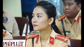 PLO -Nữ CSGT xinh đẹp tham gia dẫn đoàn phục vụ APEC