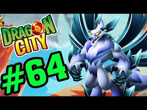 DRAGON CITY - HIGH SNOW DRAGON RỒNG CẤP H ĐẦU TIÊN - GAME NÔNG TRẠI RỒNG #64