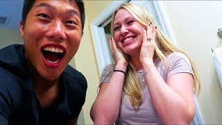 Live Pregnancy Test Reaction KKandbabyJ