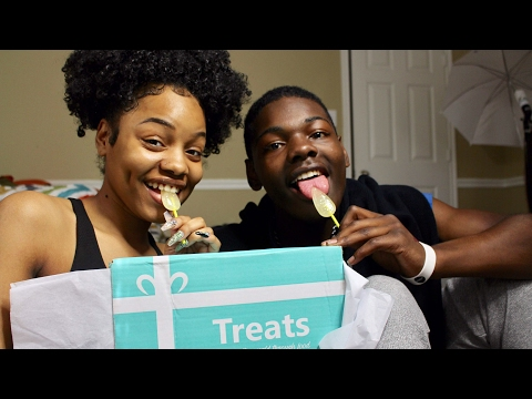 Chase & Lexis Try Snacks From France   AMERICANS TRY FRENCH SNACKS