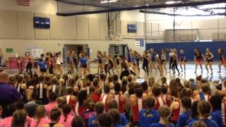 Just For Kix Camp Brainerd 3 2015 - Elite Kick Class 2