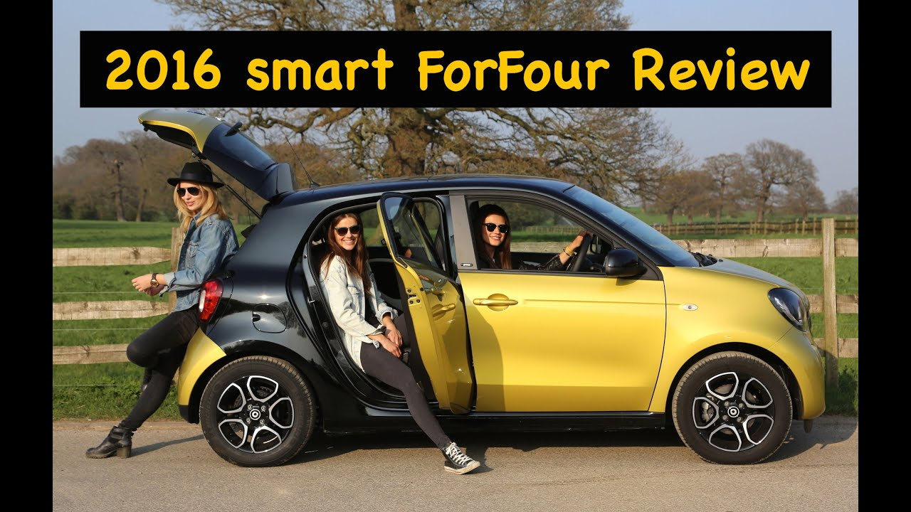 2016 smart forfour review with friends city car youtube. Black Bedroom Furniture Sets. Home Design Ideas