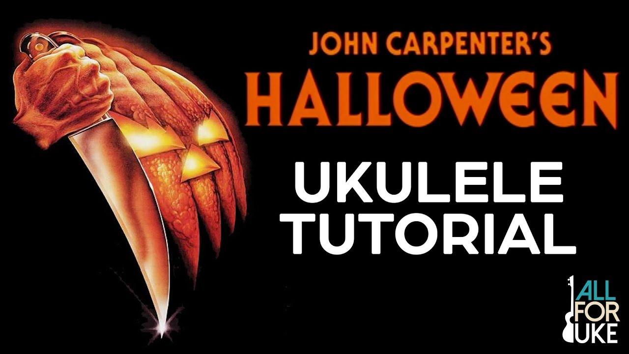 Halloween Movie Theme (UKULELE TUTORIAL)