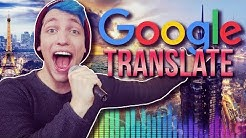 SONGS mit Google Translate
