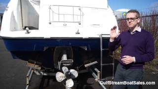 Glastron GS279 Diesel For Sale UK & Ireland - Review & Water Test by GulfStream Boat Sales
