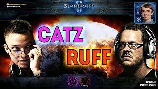 ОНИ ВСТРЕТИЛИСЬ: Супергерои креативного StarCraft II на ладдере - CatZ vs RuFF