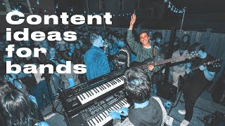 8 Social Media Ideas for Bands | Content Ideas from a Visual Artist