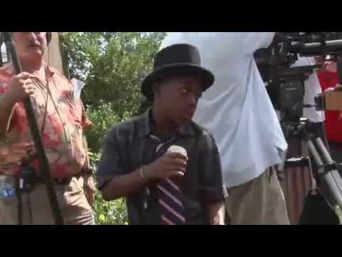 Bobb'e J. Thompson as Mad Milton in WWE Knucklehead Movie