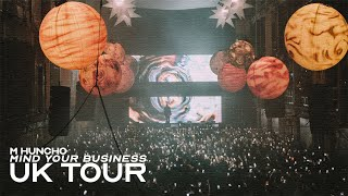 M HUNCHO - MIND YOUR BUSINESS UK TOUR VLOG thumbnail