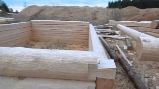 видео Срубы бань, домов в рассрочку