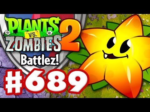 Battlez! Starfruit Premium Quest! - Plants vs. Zombies 2 - Gameplay Walkthrough Part 689