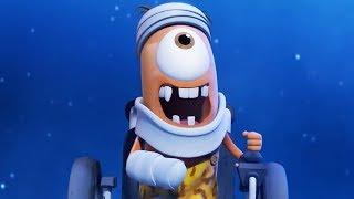 Funny Animated Cartoon | Spookiz Flying Kebi To The Moon 스푸키즈 Cartoon For Children