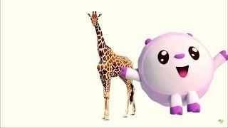 Детские песенки - Звери - МАЛЫШАРИКИ: Умные песенки - развивающие мультики про животных