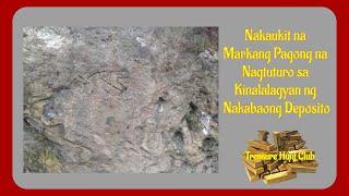 Nakaukit na Markang Pagong na Nagtuturo sa Kinalalagyan ng Nakabaong Deposito   Yamashita Treasures
