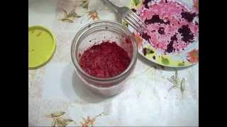 Приготовление хрена. Просто и вкусно.Preparation  of  horse-radish