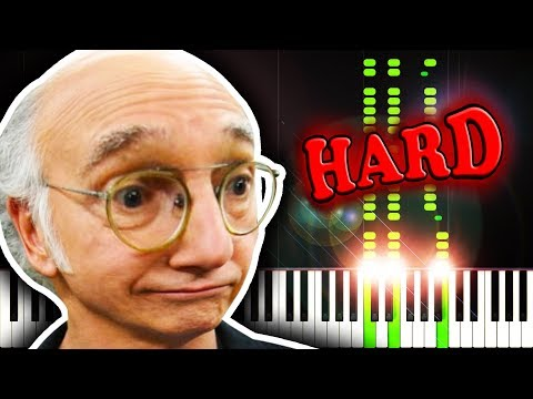 FROLIC from CURB YOUR ENTHUSIASM - Piano Tutorial