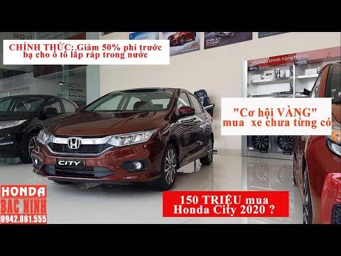 150TRIỆU mua được xe gì tại đại lý Ôtô Honda? Khuyến Mại Honda City 2020 thế nào|Lăn bánh bao nhiêu?