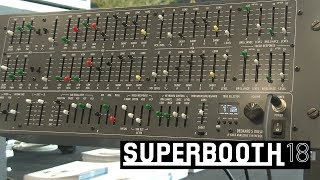 Black Corporation Deckard's Dream: аналоговый синтезатор (Superbooth18)