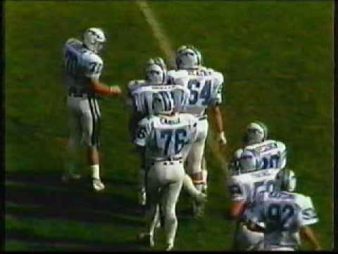 Air Force Academy vs Univ of New Mexico Football 11/14/1987