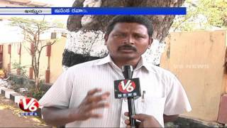 Groundwater depletion leads to water scarcity in Khammam District (27-01-2015)